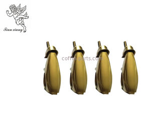 antique brass color casket handle hardware coffin accessories iron